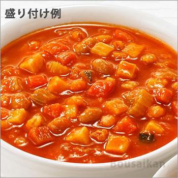 カゴメ野菜たっぷりスープ「トマトのスープ160g」バラ1袋(KAGOME/非常食/保存食/長期保存/レトルト/開けてそのまま/美味しい/おいしい)[M便 1/4]