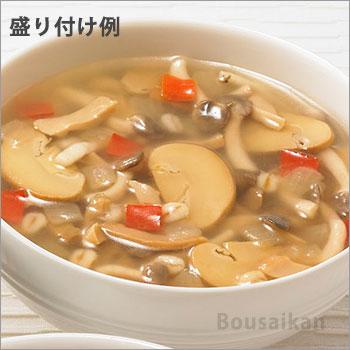 カゴメ野菜たっぷりスープ「きのこのスープ160g」バラ1袋(KAGOME/非常食/保存食/長期保存/レトルト/開けてそのまま/美味しい/おいしい)[M便 1/4]