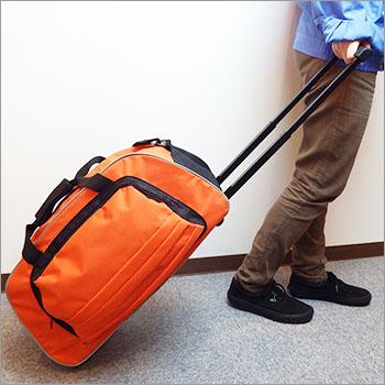 NEWオレンジキャリーバッグ(レスキューオレンジキャリーカート/避難バッグ/持出袋)