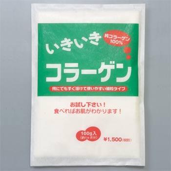 いきいきコラーゲン粉末100g【豚】お得な6袋セット【賞味期限2023年4月迄】