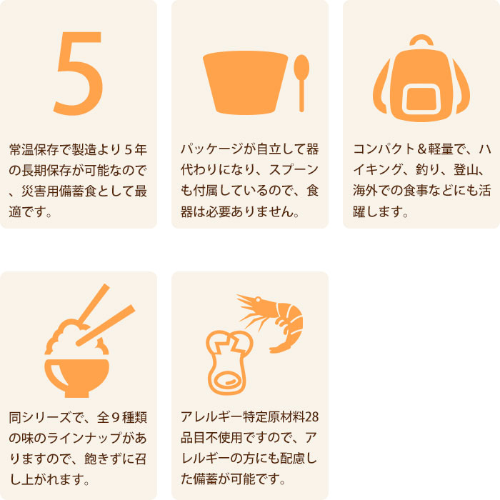 非常食 アルファ米 マジックライス 青菜ご飯 100g×20食入 ケース販売 サタケ