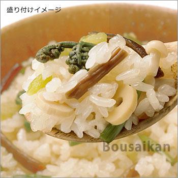 非常食アルファ米 尾西の山菜おこわ 100g ×50袋入[箱売り]<br>(スタンドパック オコワ 和食 アルファー米 アルファ化米)