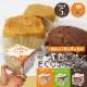 非常食 災害備蓄用パン ECOボックス オレンジ・プチヴェール・クランベリー&ホワイトチョコ 箱入り アルミパック 5年保存 エコボックス