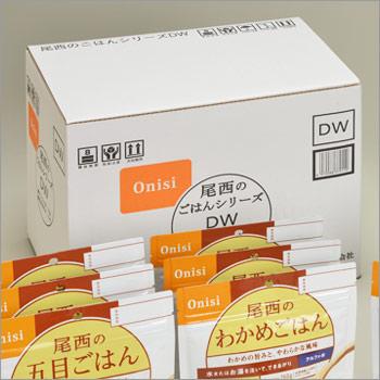 非常食アルファ米セット 尾西のごはんシリーズDW[和風・洋風組合せ]+保存水6本入り(5年保存/アルファー米/アルファ化米)