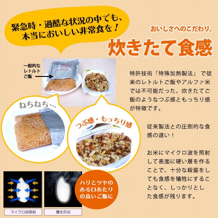 レトルト 非常食 ストックライス とり飯 200g×24パック入 ケース販売 自衛隊食 調理不要