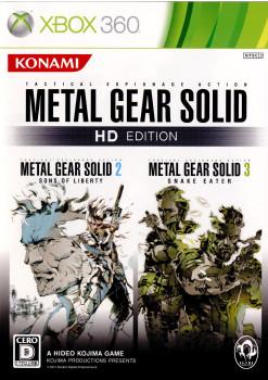 【中古即納】[Xbox360]METAL GEAR SOLID HD EDITION(メタルギア ソリッド HD エディション)(20111123)