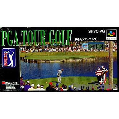 【中古即納】[箱説明書なし][SFC]PGAツアーゴルフ(19920703)