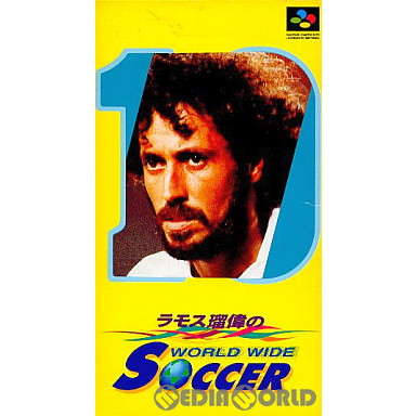 【中古即納】[箱説明書なし][SFC]ラモス瑠偉のワールドワイドサッカー(19940225)
