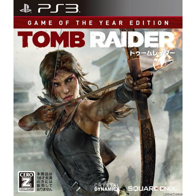 【中古即納】[PS3]トゥームレイダー ゲームオブザイヤー エディション(TOMB RAIDER Game Of The Year Edition)(20140327)