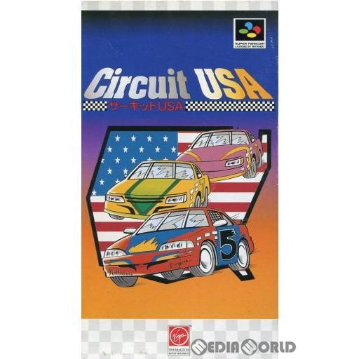 【中古即納】[箱説明書なし][SFC]Circuit USA(サーキット USA)(19950630)
