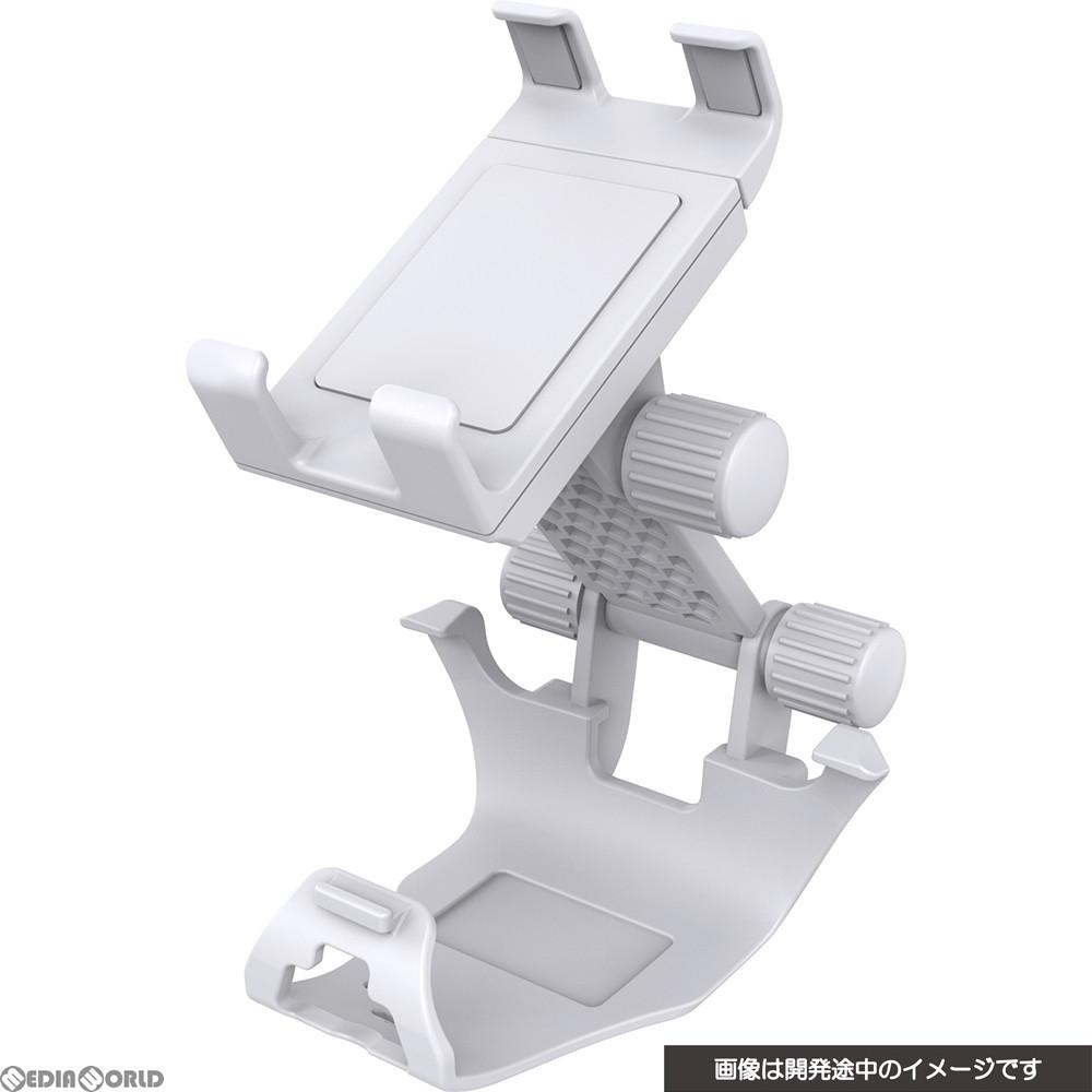 【新品】【お取り寄せ】[ACC][PS5]CYBER・コントローラースマホホルダー(PS5用) ホワイト サイバーガジェット(CY-P5CSH-WH)(20201112)