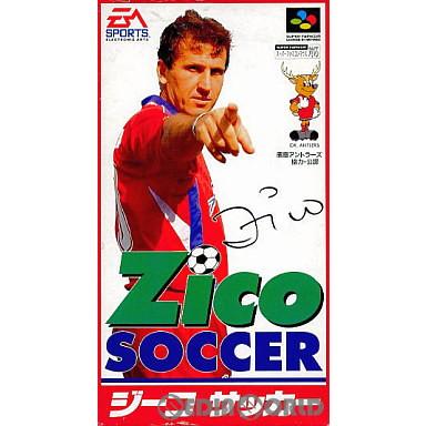 【中古即納】[箱説明書なし][SFC]ジーコサッカー(19940304)