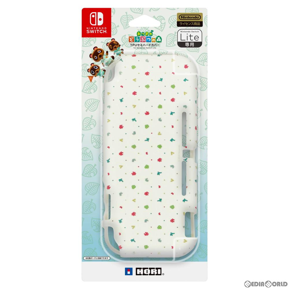 【中古即納】[ACC][Switch]あつまれどうぶつの森 TPUセミハードカバー for Nintendo Switch Lite(ニンテンドースイッチライト) 任天堂ライセンス商品 HORI(NS2-060)(20200320)