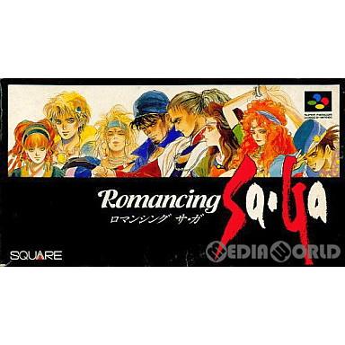 【中古即納】[箱説明書なし][SFC]ロマンシング サ・ガ(Romancing Sa・Ga)(19920128)