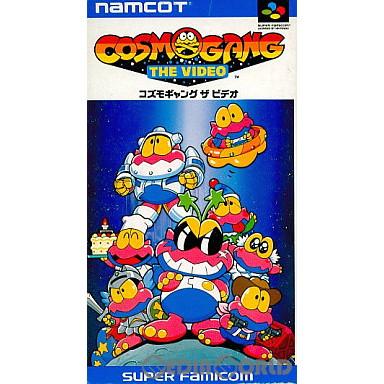 【中古即納】[SFC]コズモギャング ザ ビデオ(Cosmo Gang: The Video)(19921029)