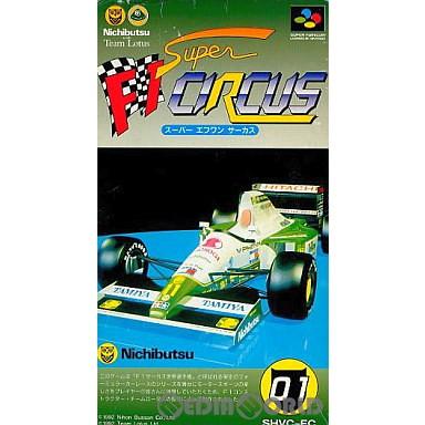 【中古即納】[箱説明書なし][SFC]スーパーF1サーカス(19920724)