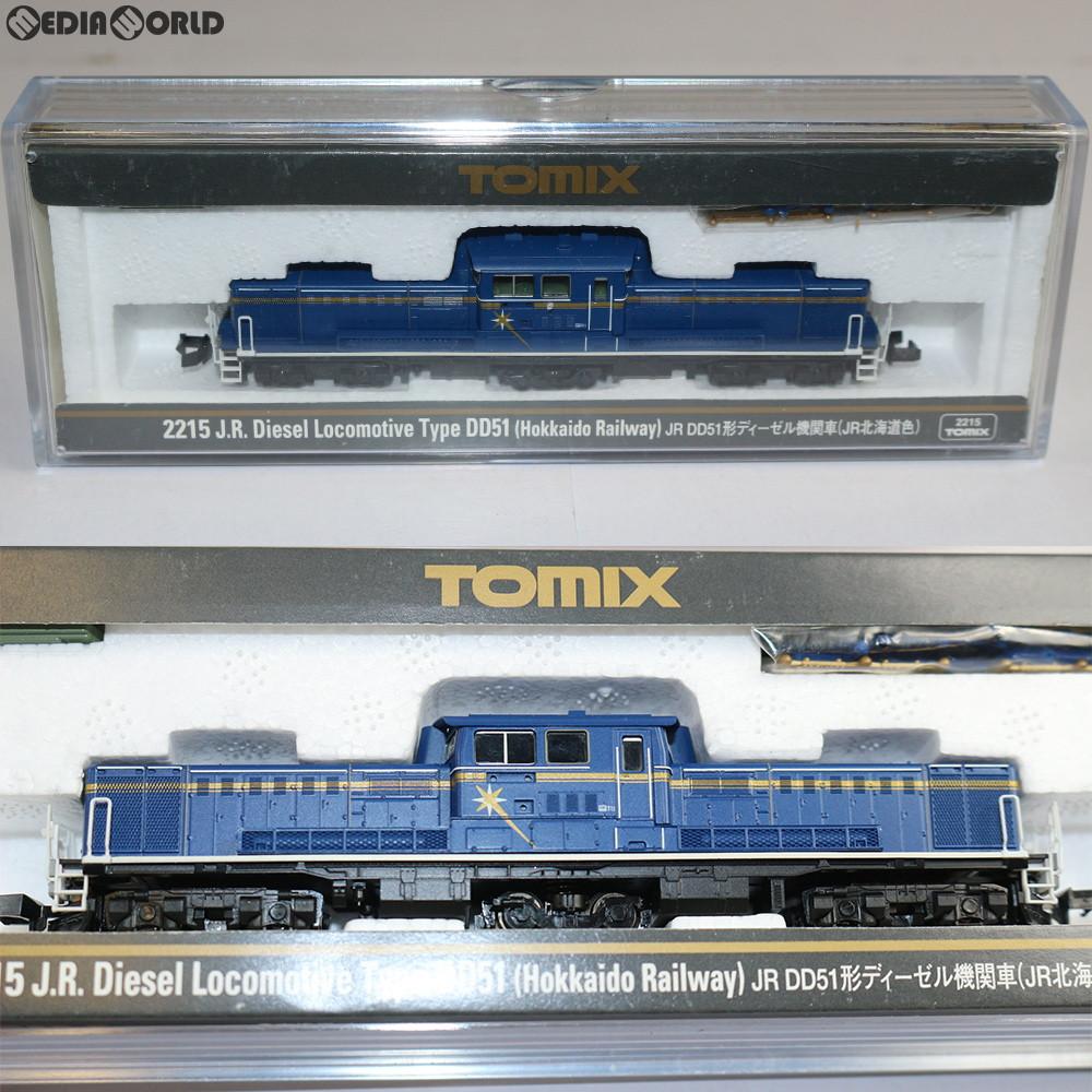 【新品即納】[RWM](再販)2215 JR DD51形ディーゼル機関車(JR北海道色) Nゲージ 鉄道模型 TOMIX(トミックス)(20200919)
