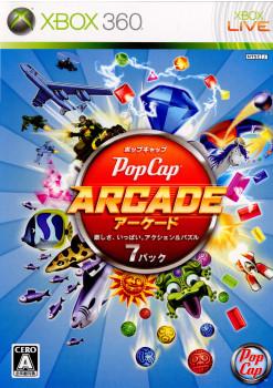 【中古即納】[Xbox360]Pop Cap ARCADE(ポップキャップ アーケード 楽しさ、いっぱい。アクション&パズル7パック)(20100603)