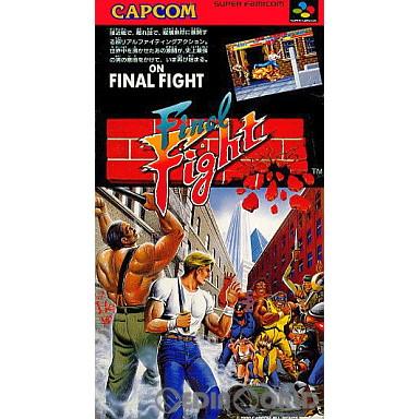 【中古即納】[SFC]ファイナルファイト(Final Fight)(19901221)