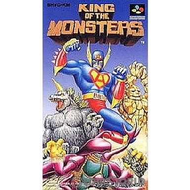 【中古即納】[箱説明書なし][SFC]キング・オブ・ザ・モンスターズ(19920731)