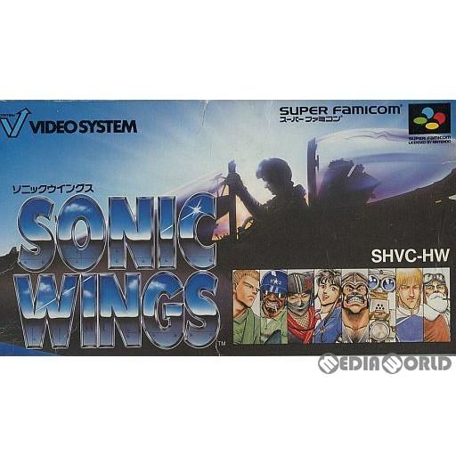 【中古即納】[箱説明書なし][SFC]ソニックウイングス(SONIC WINGS)(19930730)