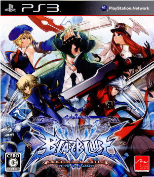 【中古即納】[PS3]BLAZBLUE CONTINUUM SHIFT(ブレイブルー コンティニュアム シフト)(20100701)