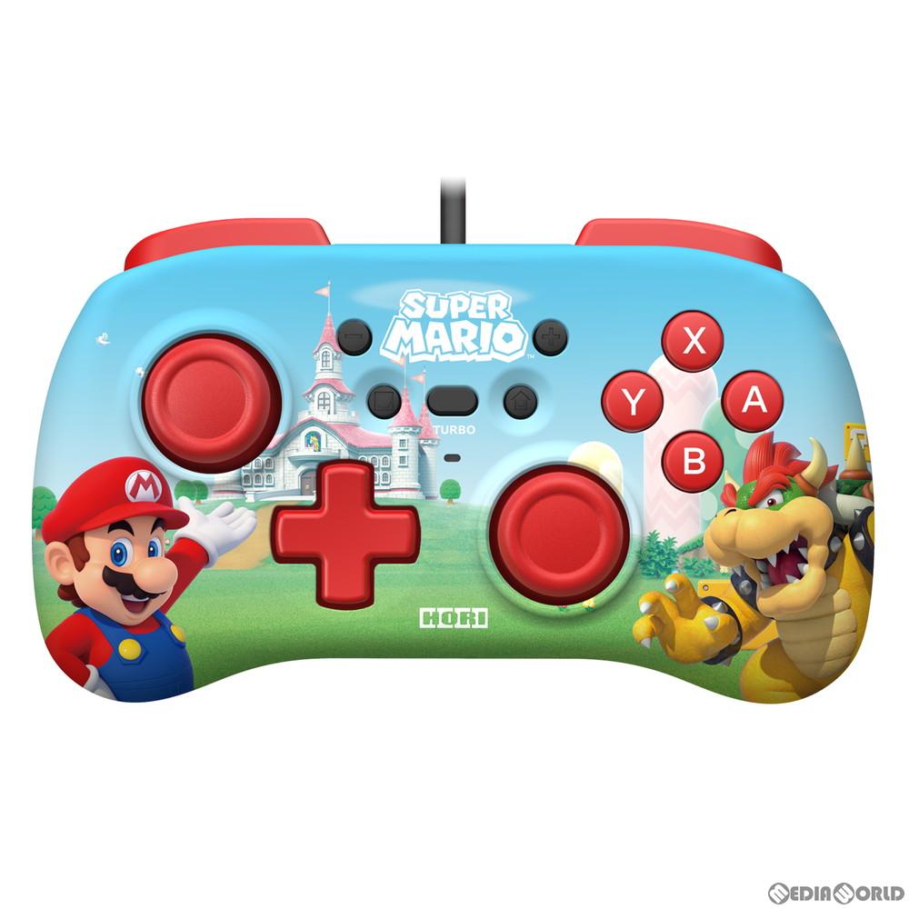 【新品】【お取り寄せ】[ACC][Switch]ホリパッドミニ for Nintendo Switch(ニンテンドースイッチ) スーパーマリオ 任天堂ライセンス商品 HORI(NSW-276)(20200730)
