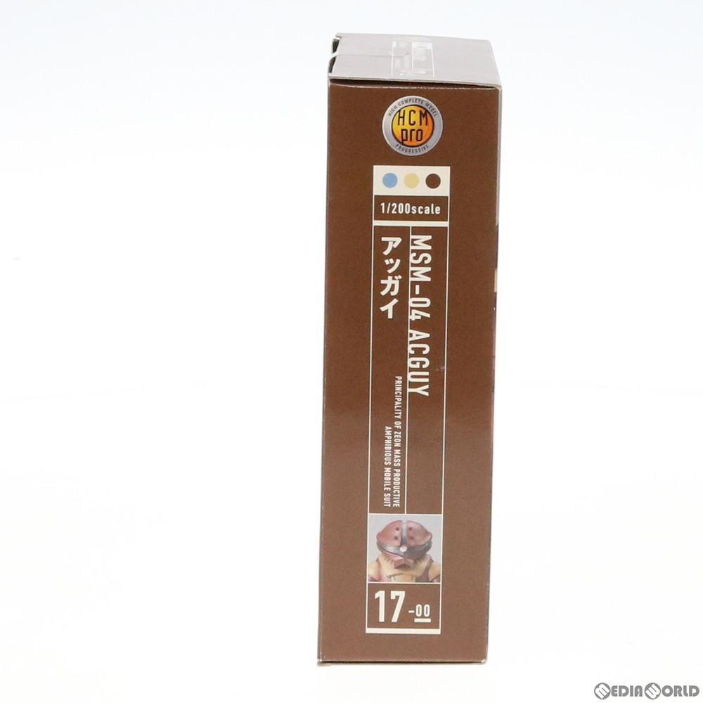 【中古即納】[FIG]HCM-Pro 17-00 MSM-04 アッガイ 機動戦士ガンダム 1/200 完成品 可動フィギュア バンダイ(20050813)