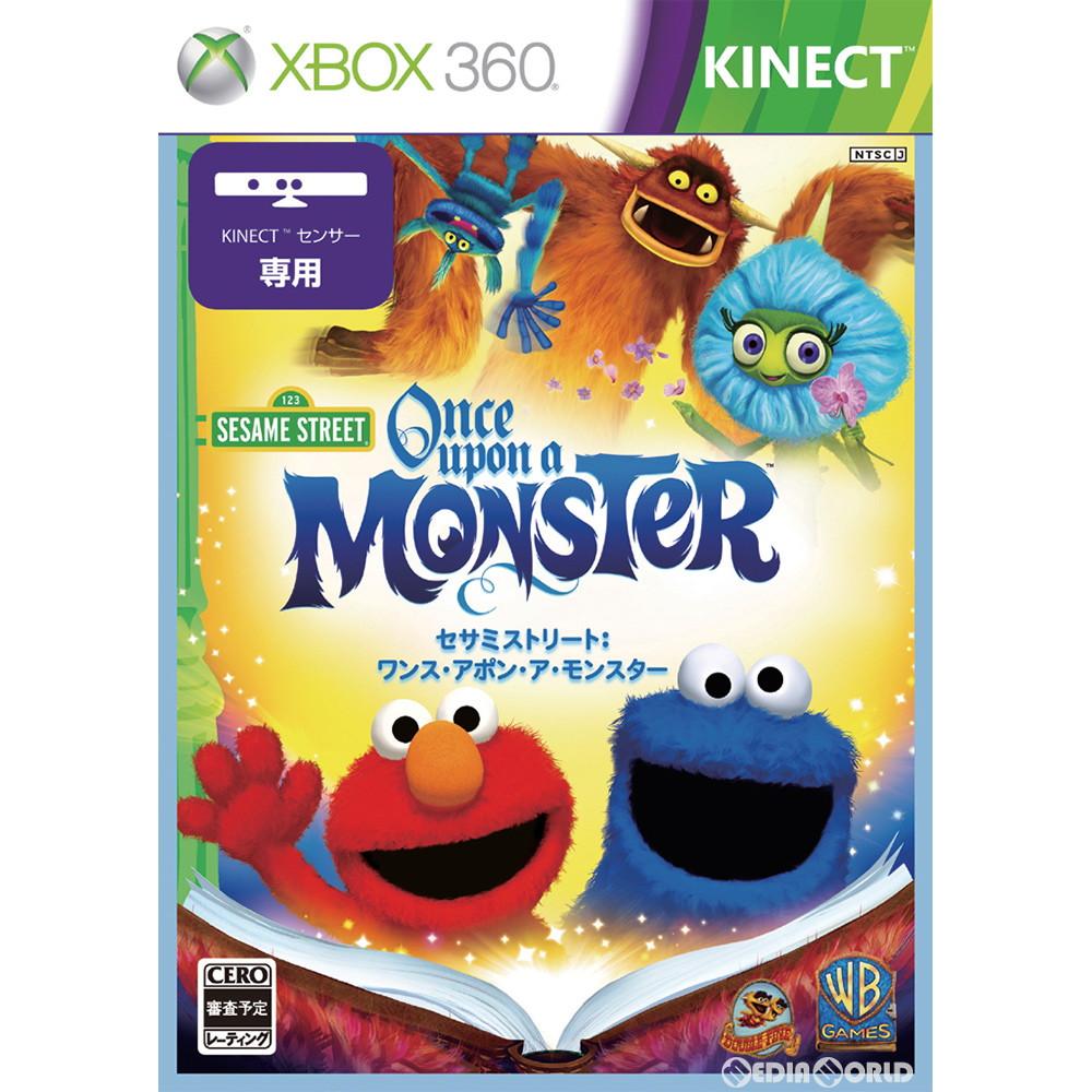 【中古即納】[Xbox360]Kinect(キネクト) セサミストリート:ワンス・アポン・ア・モンスター(Kinect(キネクト)専用)(20120419)
