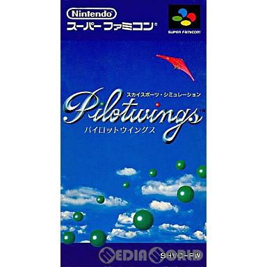 【中古即納】[箱説明書なし][SFC]パイロットウィングス(Pilotwings)(19901221)