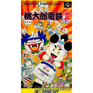 【中古即納】[箱説明書なし][SFC]スーパー桃太郎電鉄II(19920807)