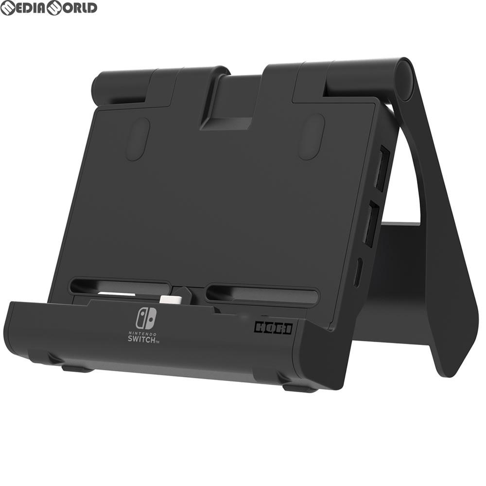 【中古即納】[ACC][Switch]テーブルモード専用 ポータブルUSBハブスタンド for Nintendo Switch(ニンテンドースイッチ) HORI(NSW-078)(20180712)