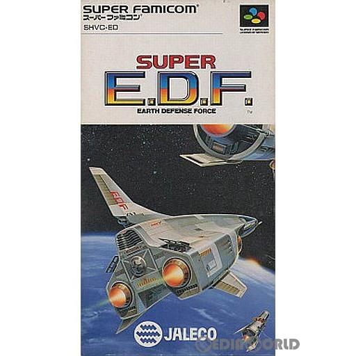 【中古即納】[箱説明書なし][SFC]スーパーE.D.F.(SUPER E.D.F.)(19911025)