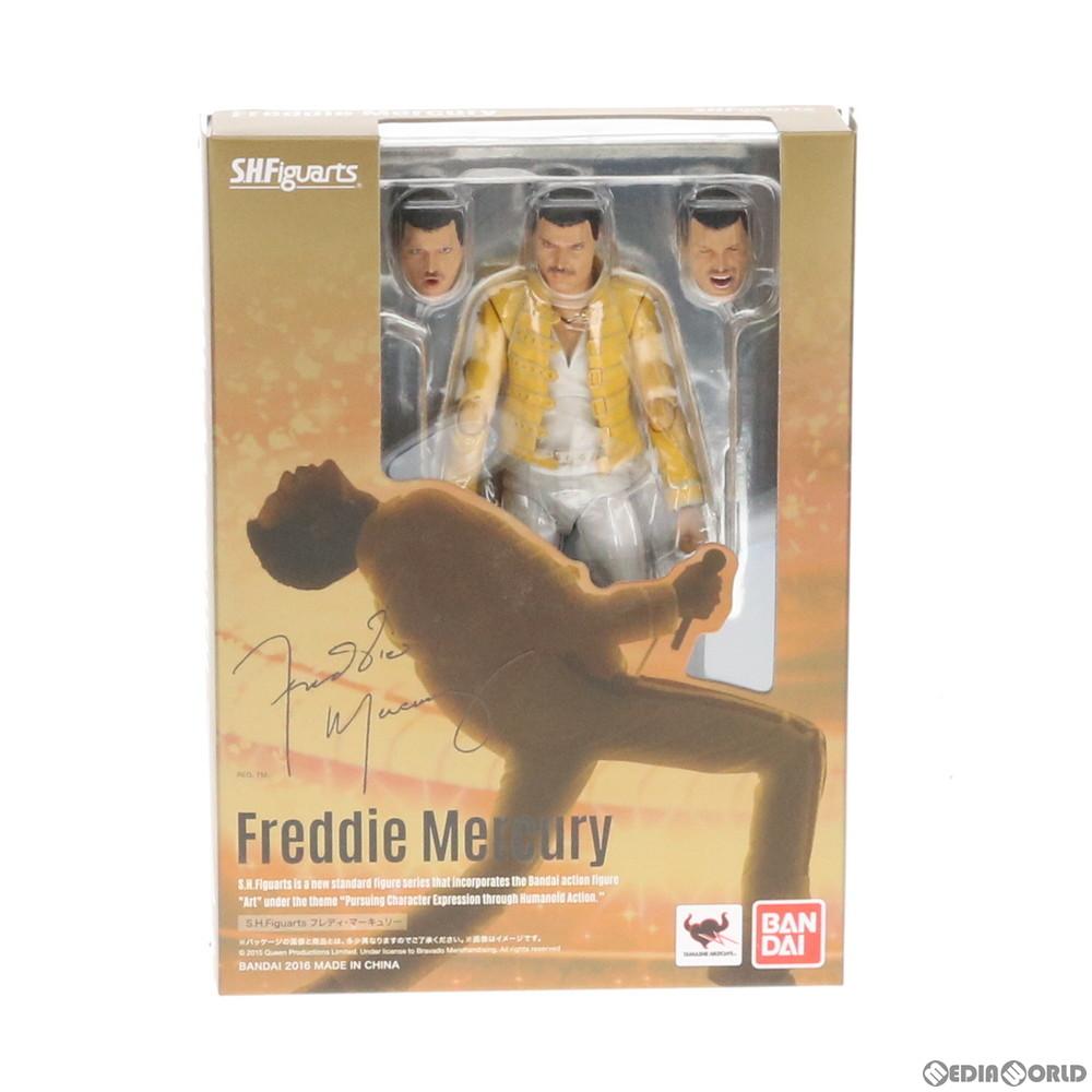【中古即納】[FIG]S.H.Figuarts(フィギュアーツ) フレディ・マーキュリー Queen(クイーン) 完成品 可動フィギュア バンダイ(20160326)