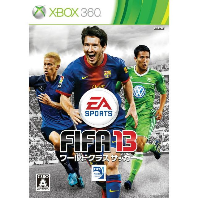 【中古即納】[表紙説明書なし][Xbox360]FIFA 13 ワールドクラスサッカー(World Class Soccer)(20121018)