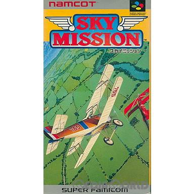 【中古即納】[箱説明書なし][SFC]スカイミッション(19920929)