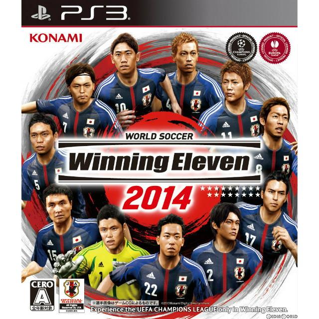 【中古即納】[PS3]ワールドサッカー ウイニングイレブン2014(20131114)