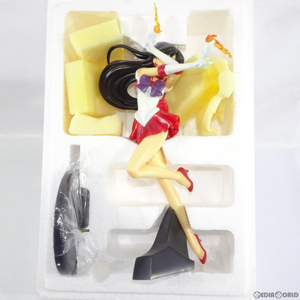 【中古即納】[FIG]セーラーマーズ 美少女戦士セーラームーンS 1/7 完成品 フィギュア コトブキヤ(20020420)