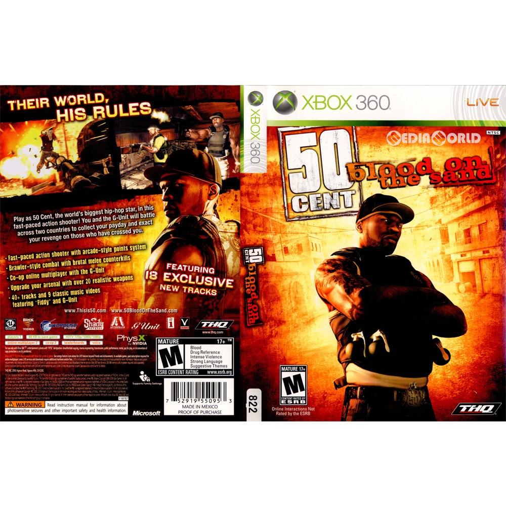 【中古即納】[表紙説明書なし][Xbox360]50 Cent: Blood on the Sand(50セント ブラッド オン ザ サンド)(北米版)(20090224)