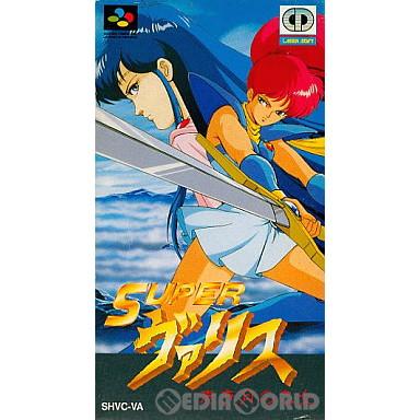 【中古即納】[SFC]スーパーヴァリス(Super Valis) 赤き月の乙女(19920327)