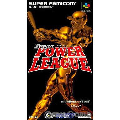 【中古即納】[箱説明書なし][SFC]スーパーパワーリーグ(19930806)
