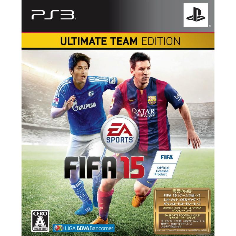 【中古即納】[PS3]FIFA 15 ULTIMATE TEAM EDITION(限定版)(20141009)