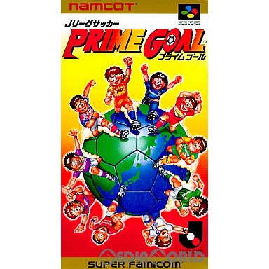 【中古即納】[箱説明書なし][SFC]Jリーグサッカープライムゴール(19930806)