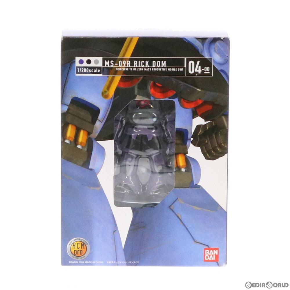 【中古即納】[FIG]HCM-Pro 04-00 MS-09R リック・ドム 機動戦士ガンダム 1/200 完成品 可動フィギュア バンダイ(20040611)