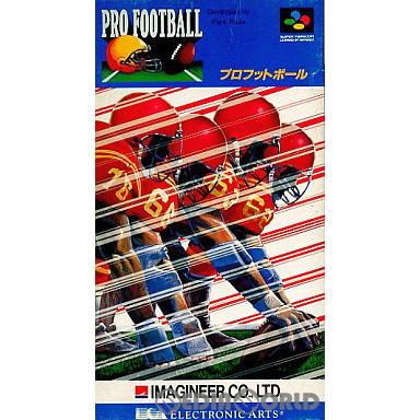 【中古即納】[SFC]プロフットボール(19920117)