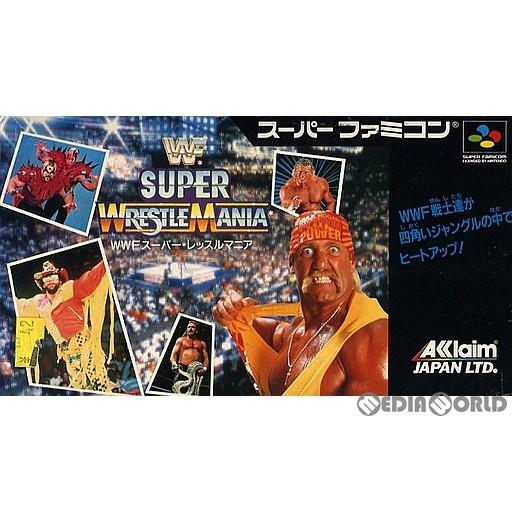 【中古即納】[箱説明書なし][SFC]WWFスーパーレッスルマニア(WWF Super WrestleMania)(19920424)