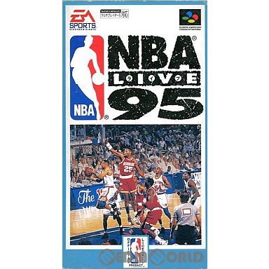 【中古即納】[箱説明書なし][SFC]NBA LIVES'95(ライブ'95)(19941216)