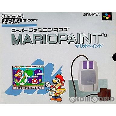 【中古即納】[箱説明書なし][SFC]マリオペイント(Mario Paint)(19920714)