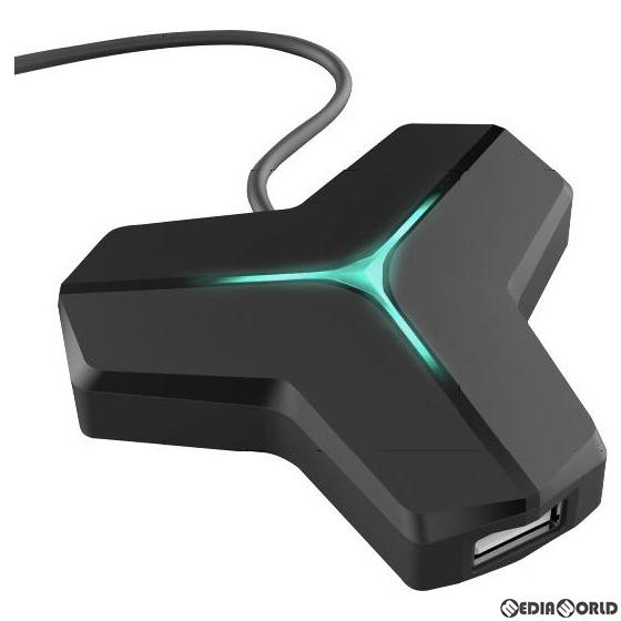 【新品】【お取り寄せ】[ACC][Switch]CYBER・マウス&キーボード変換アダプター(SWITCH/PS4用)(スイッチ/PS4用) ブラック サイバーガジェット(CY-NSP4MKCA-BK)(20200521)