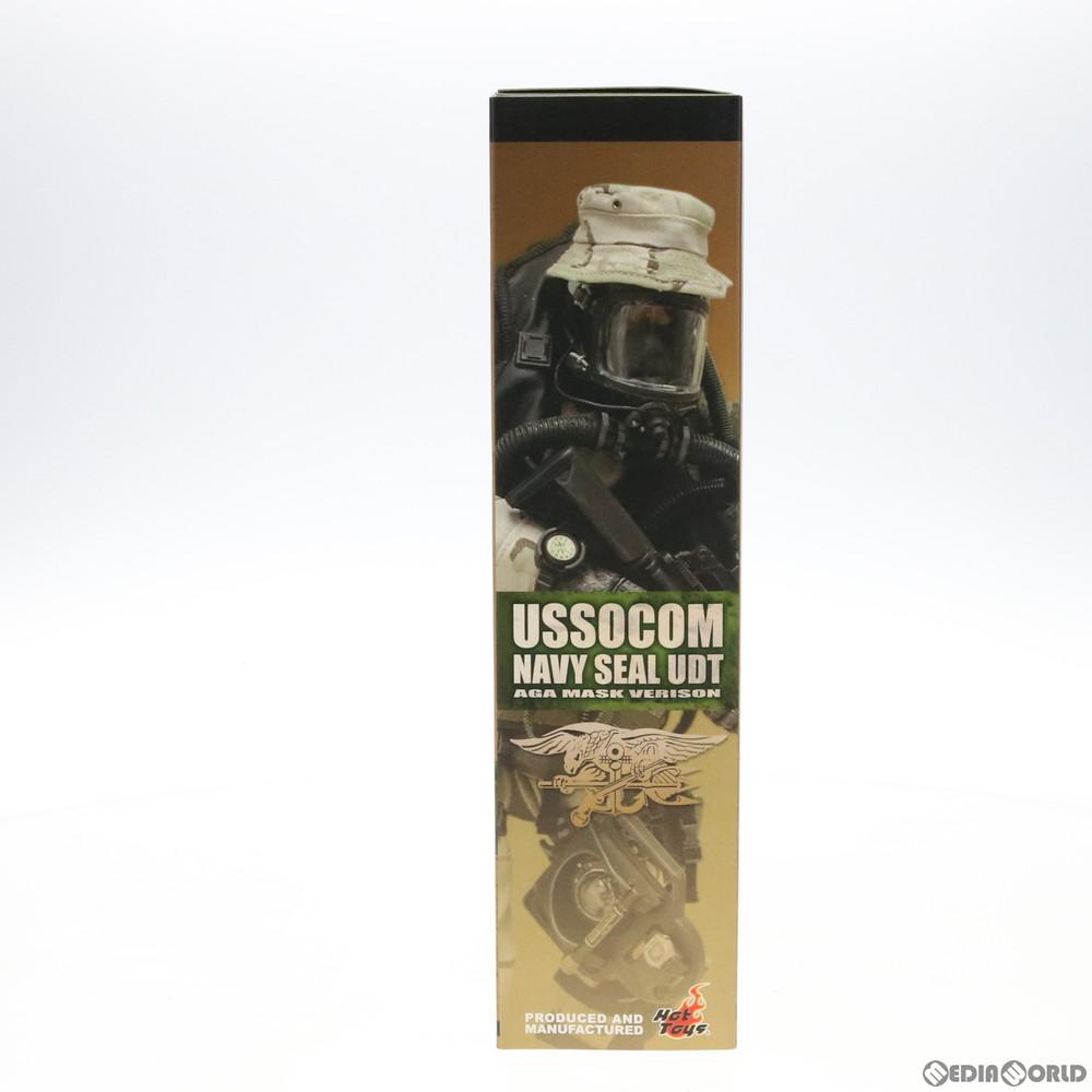 【中古即納】[FIG]ホットトイズ・ミリタリー Navy Seal UDT(AGA Mask Version) 1/6 完成品 可動フィギュア(M/SF/050507) ホットトイズ(20050531)